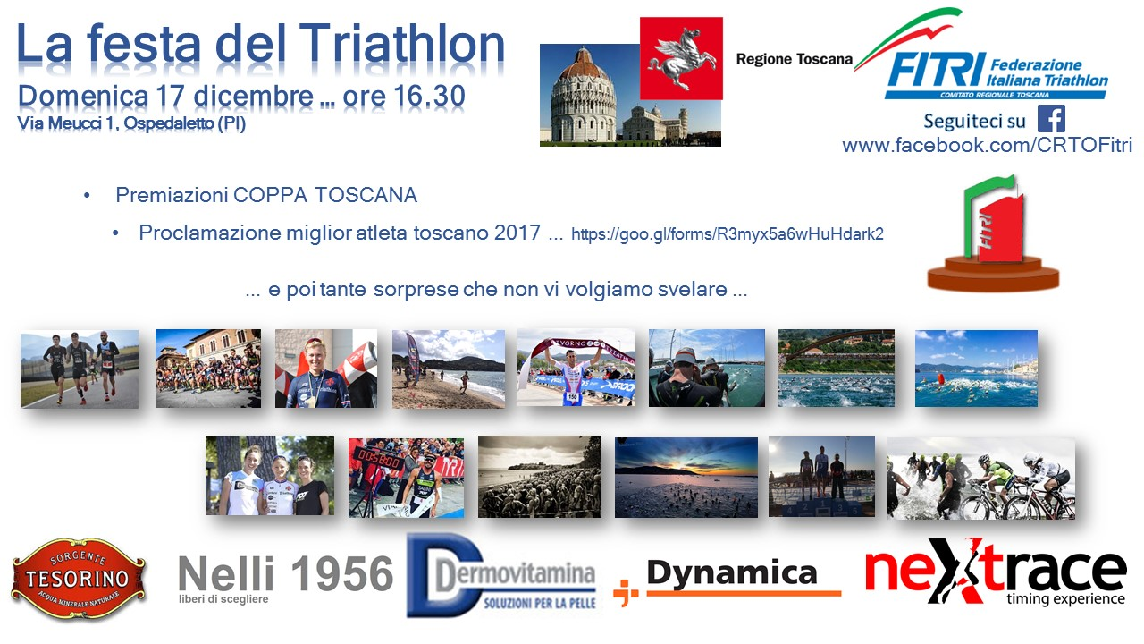 Locandina Festa del Triathlon 2017 FINAL